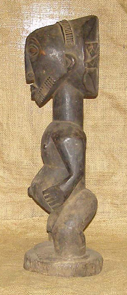 African Artwork from the Baluba Tribe
