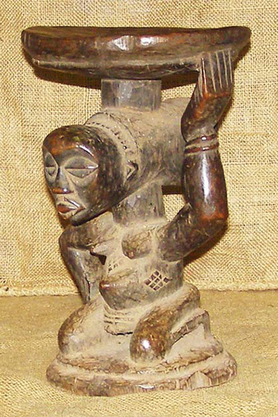 Tribal African Stools from the Baluba
