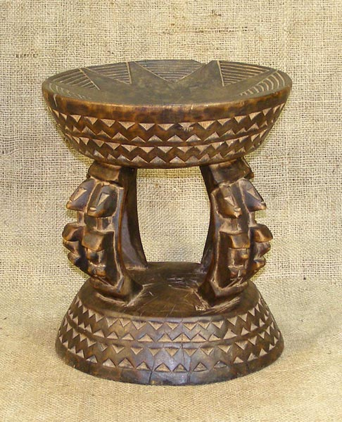 African Stools Dogon Stool 4 Dogon Tribe From