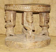 African Stools - Dogon Stool 2