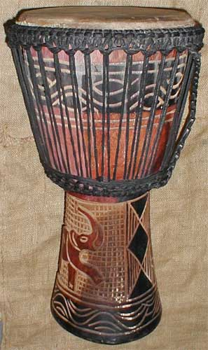 African Traditional Art From The Mandinka Tribe