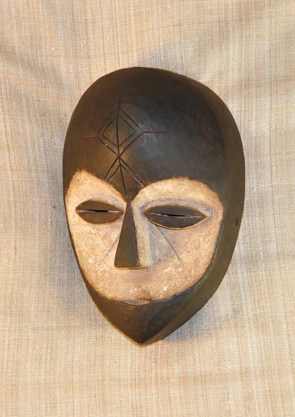 African masks fang mask tribe from