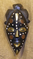 African Masks - Fang Mask 14