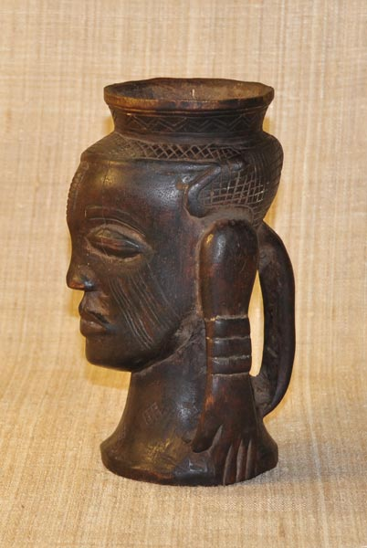 African Cup from the Kuba Tribe of Congo