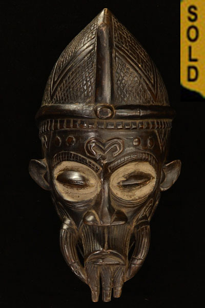 African Lulua Mask 7 Front
