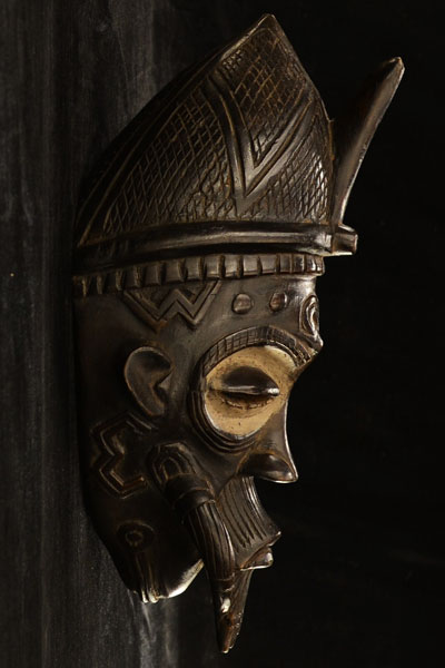 African Lulua Mask 7, Right