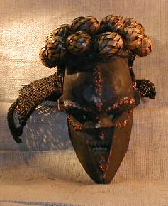 Buy African Art - Yaka Masks
