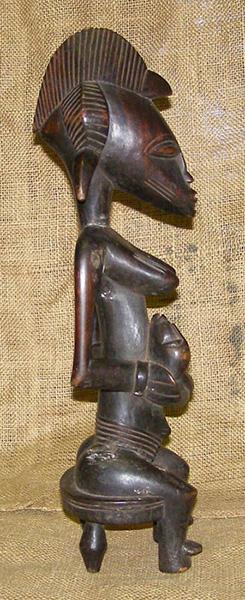 African Statues - Senufo Statue 7 - Senufo Tribe - from ...