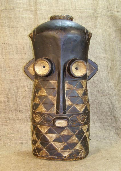 African Traditional art from the Tetela Tribe - African Mask
