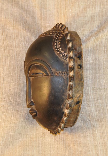 African Mask from the Yaure Tribe of Ivory Coast