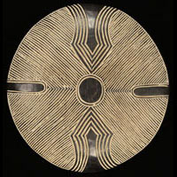 Zulu Shield 15: Click for more views of this African Shield.