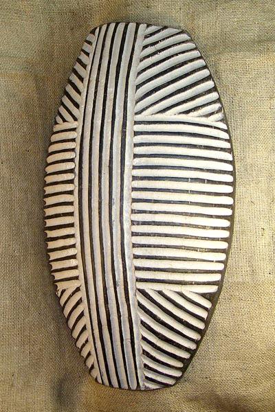 African Shields - Zulu Shield 5 - Zulu Tribe - from