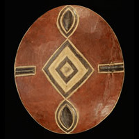 Zulu Shield 8: Click for more views of this African Shield.